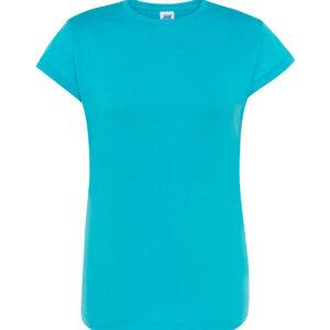 camiseta mujer turquesa
